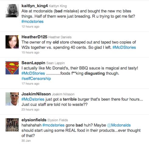 social media marketing mc donalds